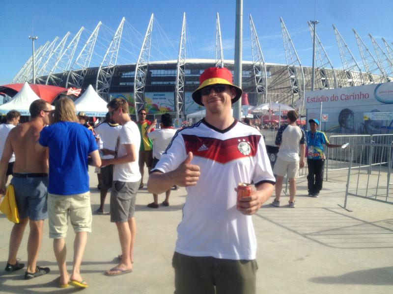 Fortaleza: Daumen hoch für das  Stadion