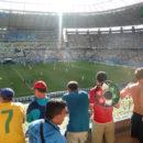 Gute Aussicht im Stadion von Fortaleza