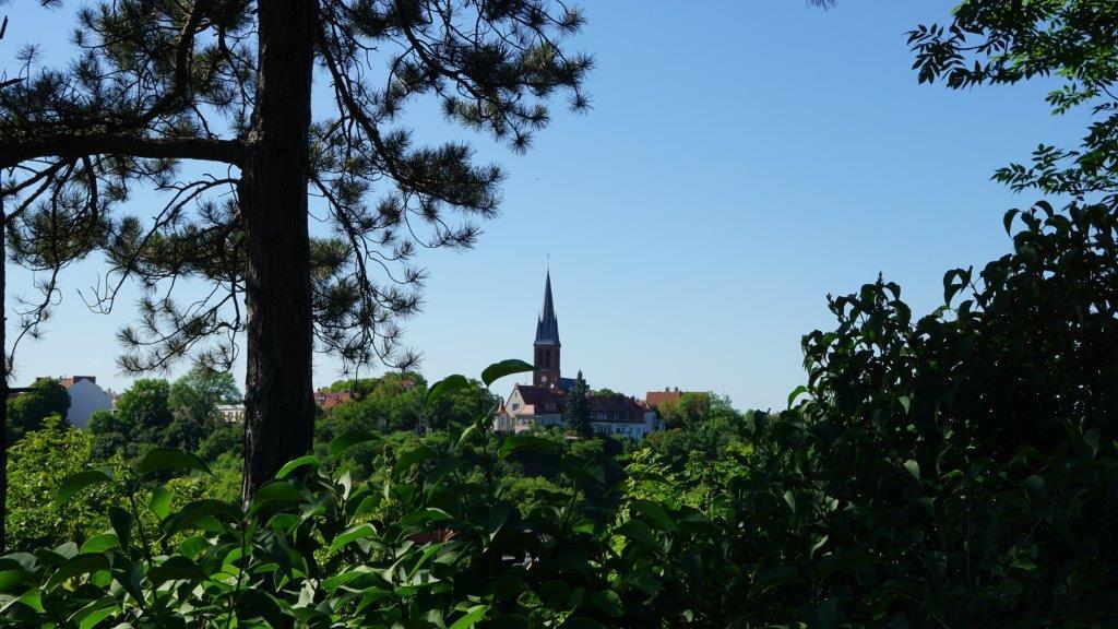 Amtsgarten: Ausblick Kröllwitz