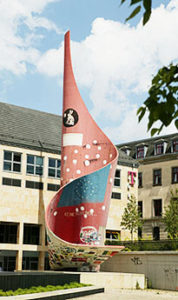 """Die """"Fahne"""" in den 90ern (Quelle: vhs.halle.de)"""