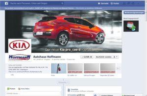 Autohaus Hoffmann - Facebookseite