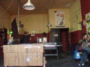 Vorraum des La Bim Kinos