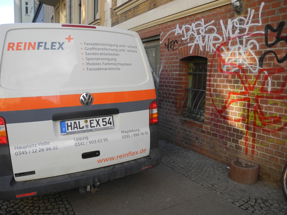 Reinflex Graffitientfernung