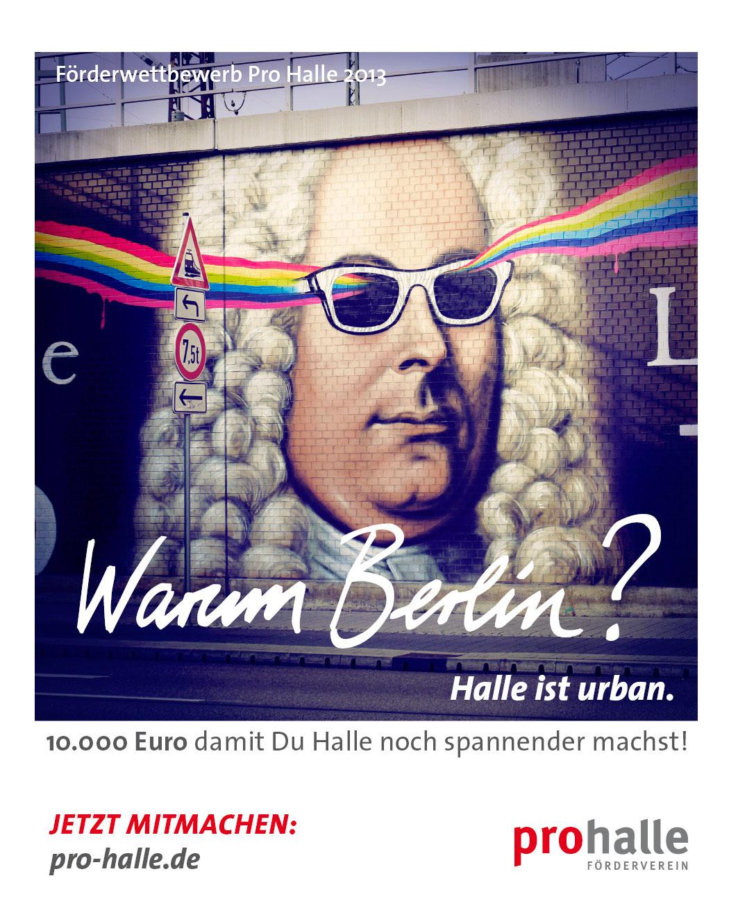 Warum Berlin - Halle ist urban