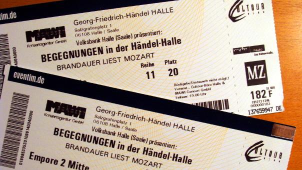 Brandauer rezitiert Mozart