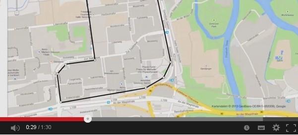 Google Werbespot zum Hochwassereinsatz in Halle