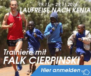 Laufreise nach Kenia mit Falk Cierpinski