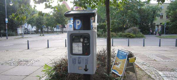 Parkgebühren per SMS zahlen