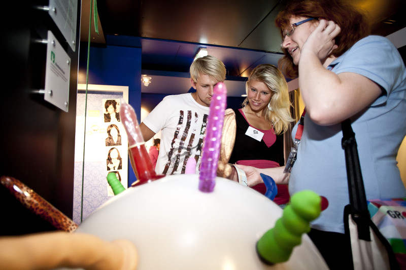 Rollende Kondomschule, Foto: BZgA
