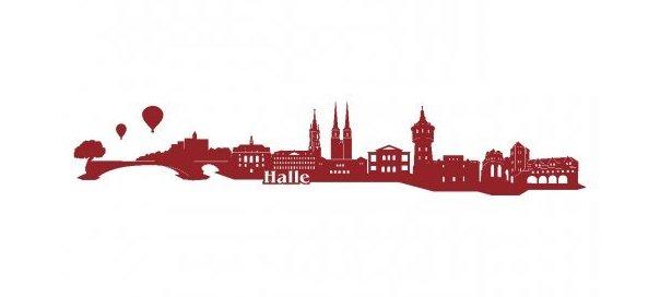 Wandtattoo Halle